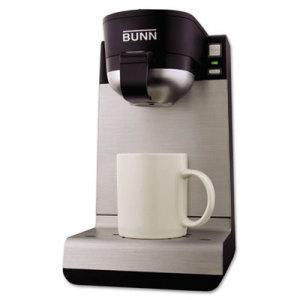 Single Cup Coffee Maker Bunn : Bunn Coffee My Cafe Single Serve Pod Brewer - BUNMC - Shoplet.com