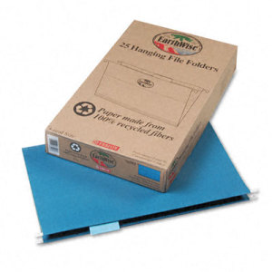 Image of 100% Recycled Hanging File Folders