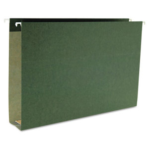 Image of 100% Recycled Green Box Bottom Hanging Folders