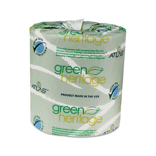 Atlas Paper Mills Green Heritage Toilet Tissue Apm235green