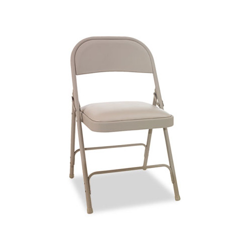 Best Steel Folding Chair W Padded Seat ALEFC94VY50T