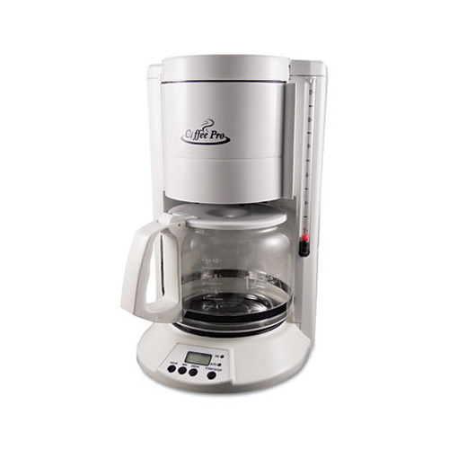 Coffee pro home office 12 cup coffee maker ogfcp330w for Apartment therapy coffee maker