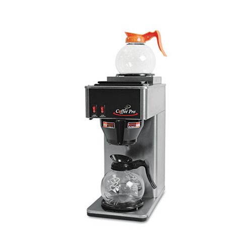 Coffee Pro Two-Burner Institutional Coffee Maker - OGFCP2B - Shoplet.com
