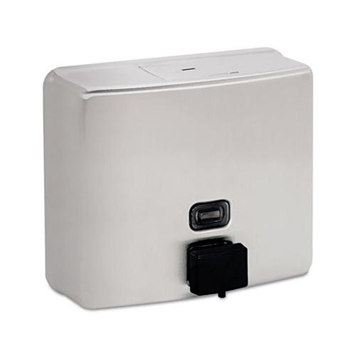 Soap Dispenser Key ~ Bobrick conturaseries surface mounted soap dispenser