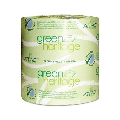 atlas paper mills green heritage toilet tissue