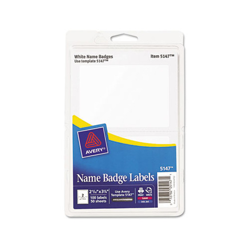 avery template 5147 - avery printable self adhesive name badges ave5147
