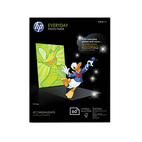 HP Everyday Photo Paper - HEWCH097A - Shoplet.com