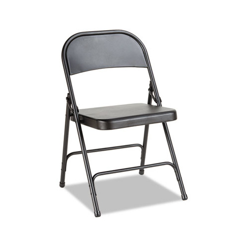 Best Steel Folding Chair with Two Brace Support ALEFC94B Shoplet
