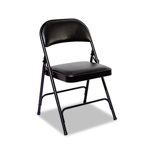 Best Steel Folding Chair with Two Brace Support ALEFC96B Shoplet