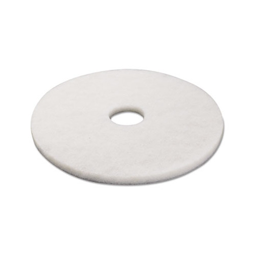 Boardwalk standard 17 inch diameter polishing floor pads for 17 floor buffer pads