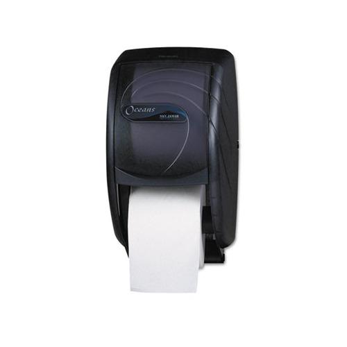 San Jamar Duett Toilet Tissue Dispenser Sjmr3590tbk