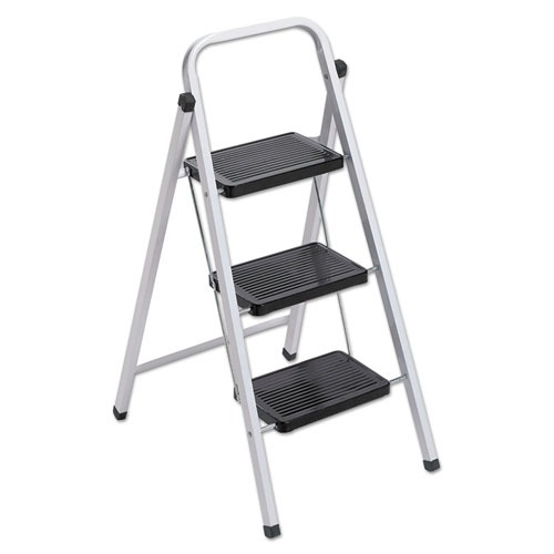 Louisville Qs3 Quick Step Steel 3 Step Folding Stool