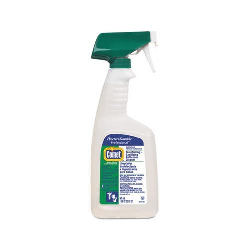 Comet Professional Liquid Disinfectant Bathroom Cleaner Citrus Scent 32oz Bottle Pgc22569
