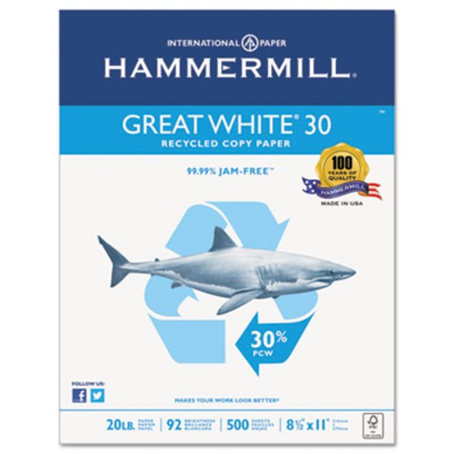 hammermill paper Hammermill laser paper letter size paper 24 lb ream of 500 sheets, hammermills electronic imaging guarantee - works in a variety of machines at office depot & officemax.