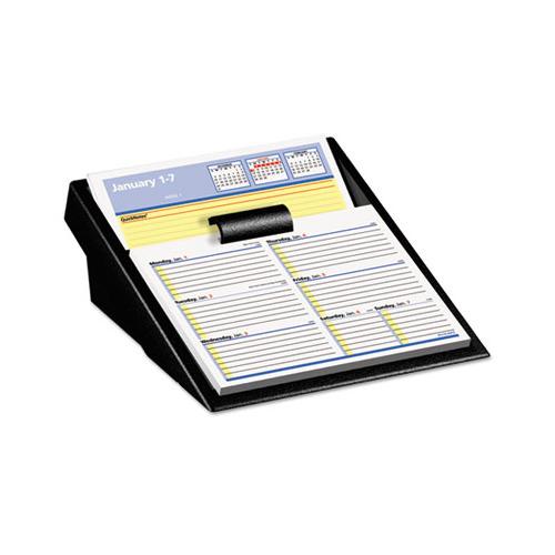 Weekly Calendar Refills : At a glance flip week desk calendar refill with