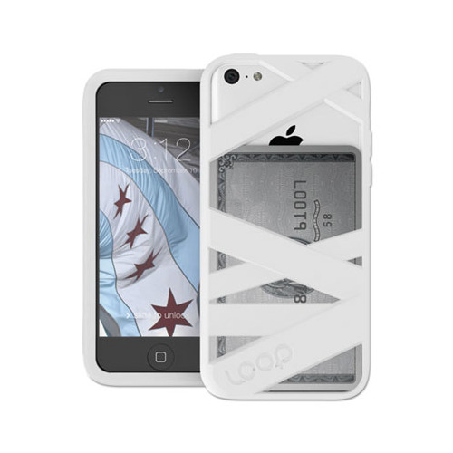 loop attachment co mummy case for iphone 5c looloop6wht