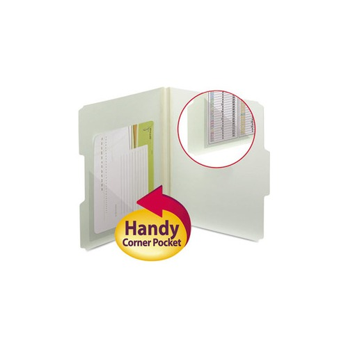 Smead Self-Adhesive Poly Corner Pockets