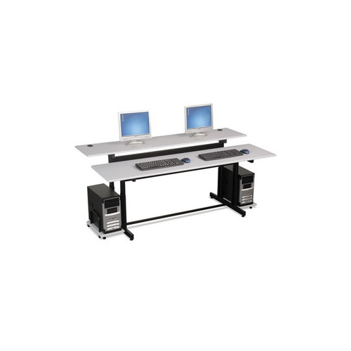 Balt Split Level Computer Training Table Top Blt83080