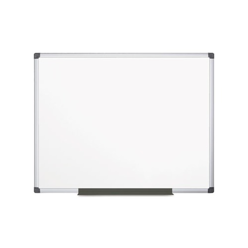 Metal Dry Erase Board : Mastervision value lacquered steel magnetic dry erase
