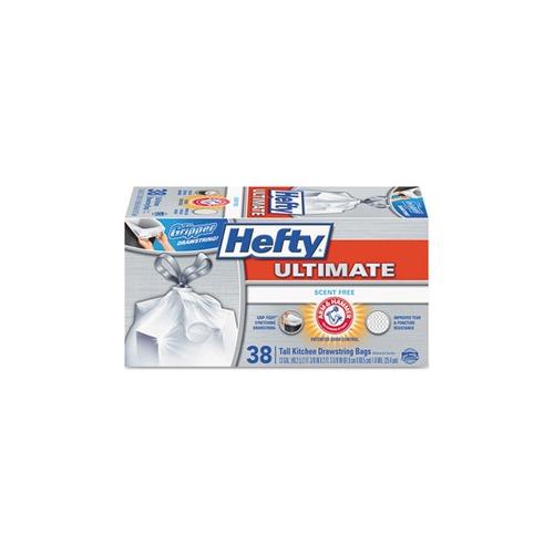 hefty ultimate kitchen trash bags rfpe84638ct shoplet