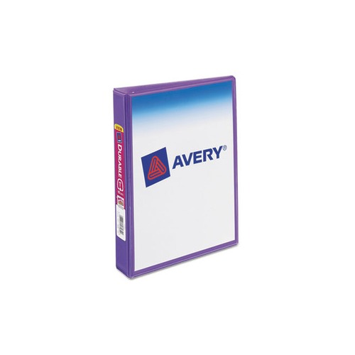 Avery Mini Size Durable View Binder W/Round Rings