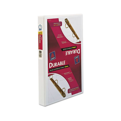 Avery Legal Three-Ring Durable View Binder W/Round Rings