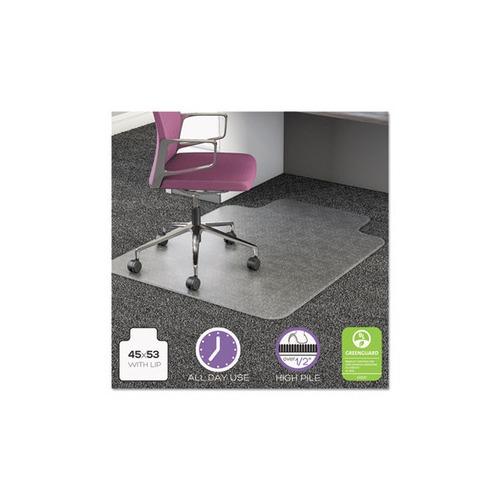 Chair Mat For Deep Pile Carpet: Deflect-o UltraMat All Day Use Chair Mat For High Pile