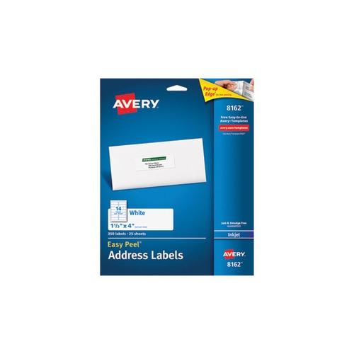 Avery Easy Peel Address Labels For Laser Printers 1 X 2: Avery Easy Peel Mailing Address Labels