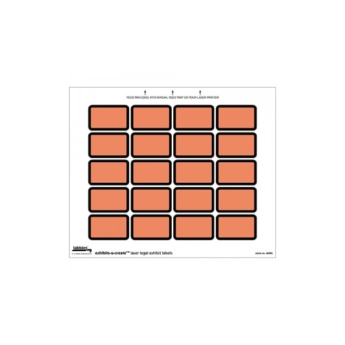 Tabbies exhibits u create orange tab48095 for Exhibit label template