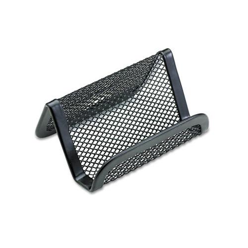 Rolodex mesh business card holder rol22251eld for Mesh business card holder