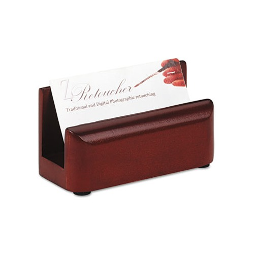 Rolodex Wood Tones Business Card Holder ROL