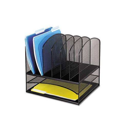 Safco mesh desk organizer saf3255bl - Mesh desk organizer ...