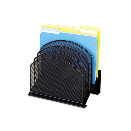 Safco mesh desk organizer saf3257bl - Mesh desk organizer ...